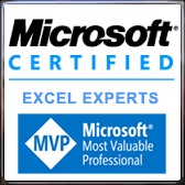 We are Microsoft Certified Excel Workbook Experts