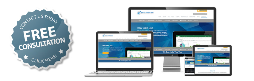 As expert Excel consultants and programmers we work in both the Windows version as well as the Mac versions
